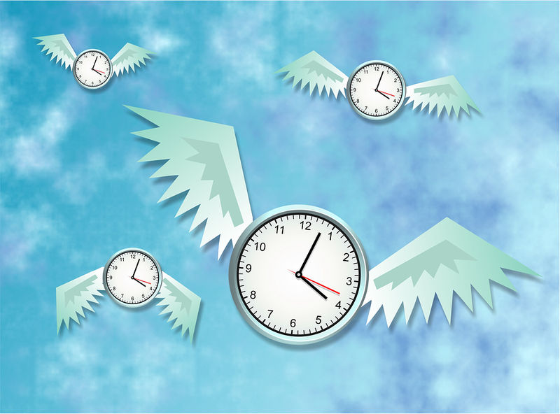 Bigstockphoto_Time_Flies_22538